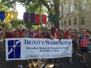 YAg members were front and center in our 2013 Capital Pride Parade contingent.